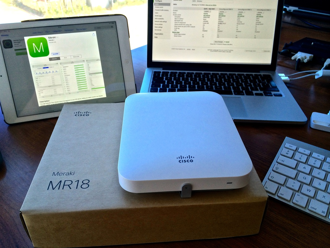 Borne wifi Cisco Meraki Cloud